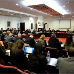 Участниците в конференцията (фото: УНСС)