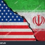 stock-photo-iranian-flag-on-broken-wall-and-half-usa-united-states-of-america-flag-crisis-trump-president-and-570899827 - 010518